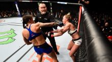 Germaine de Randamie offers Holly Holm a rematch as a result of late blows