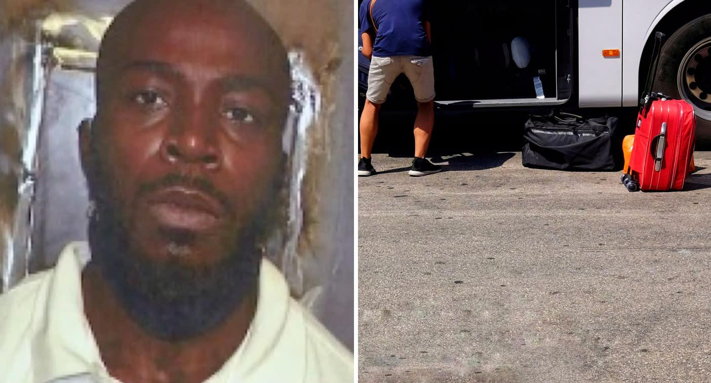 Man's grisly suitcase secret during five-hour bus ride