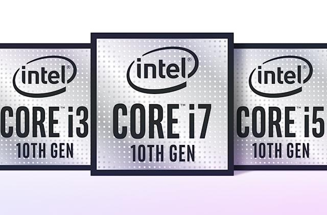 Intel's 10th-gen CPUs for powerful ultraportables will reach six cores