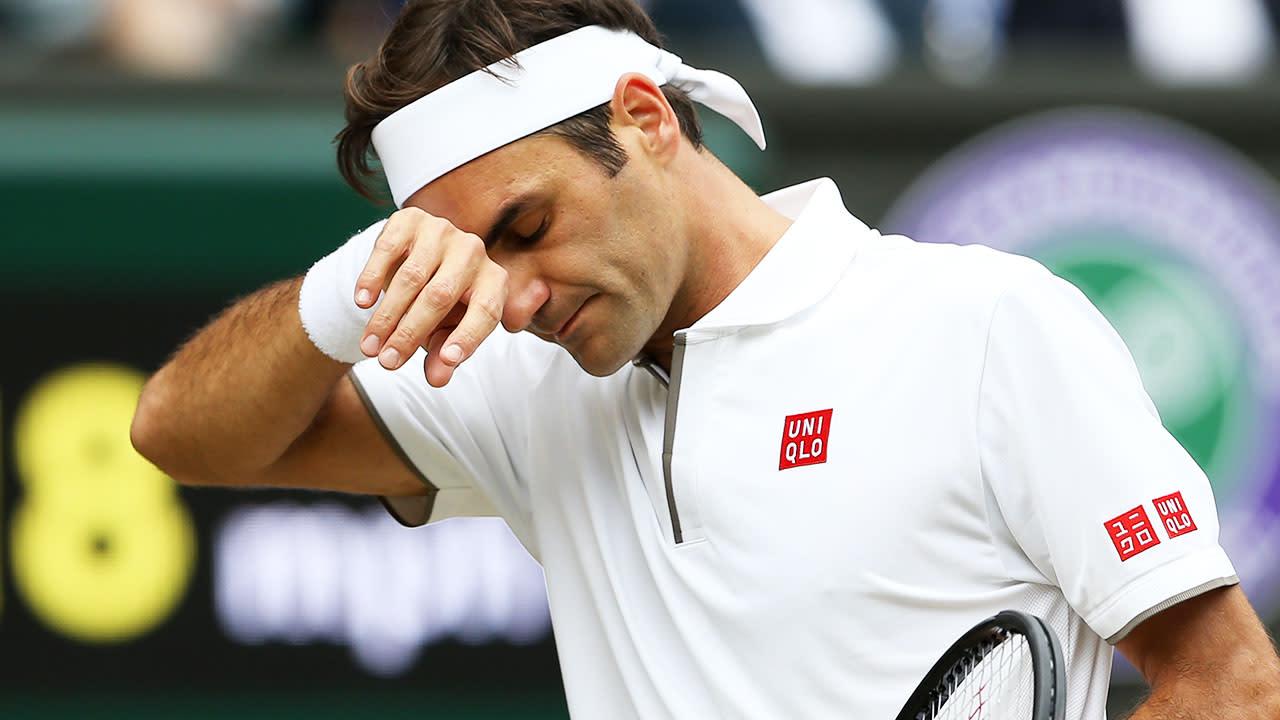 'It's basic': Tennis legend slams Roger Federer over shocking Wimbledon moment