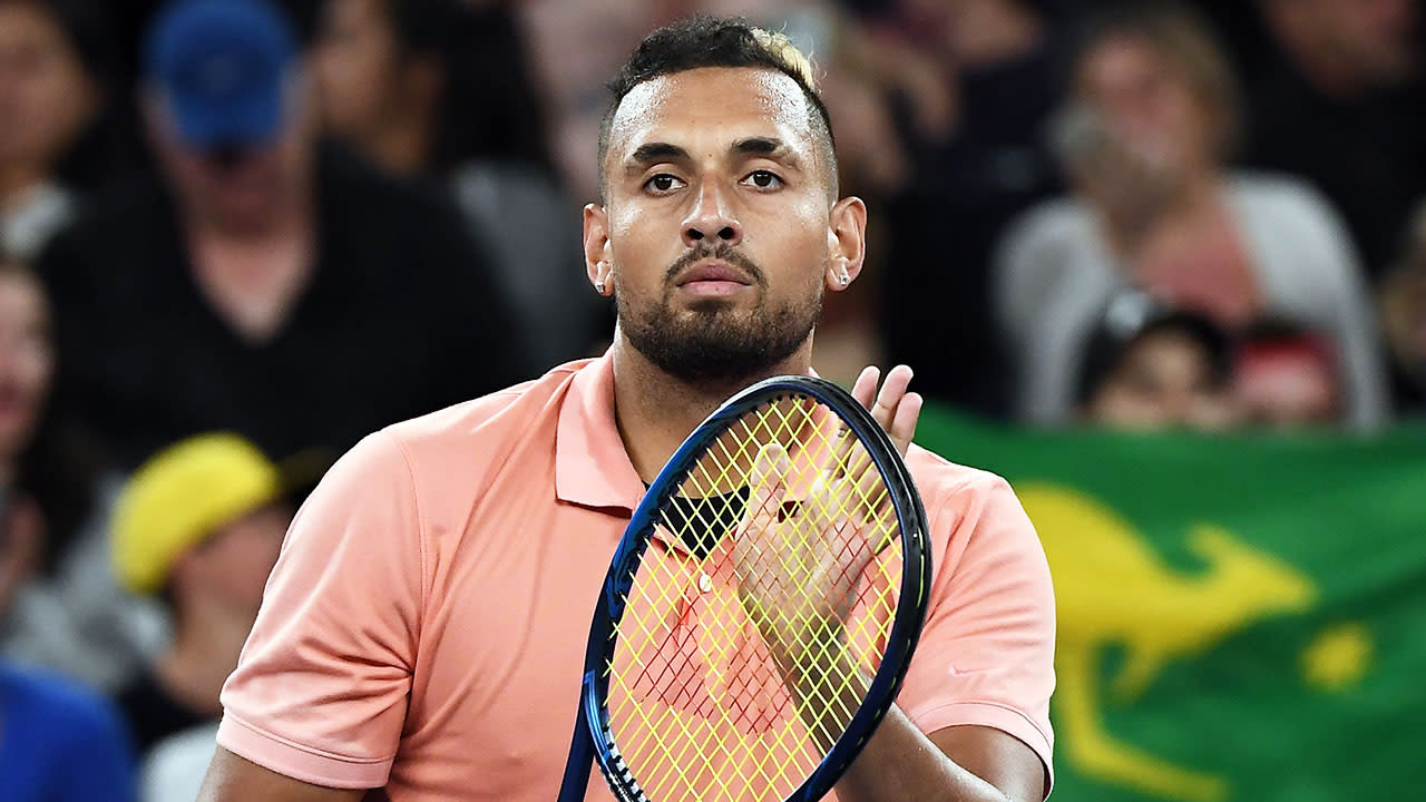 'This one's for you little fella': Nick Kyrgios' classy message after Australian Open win