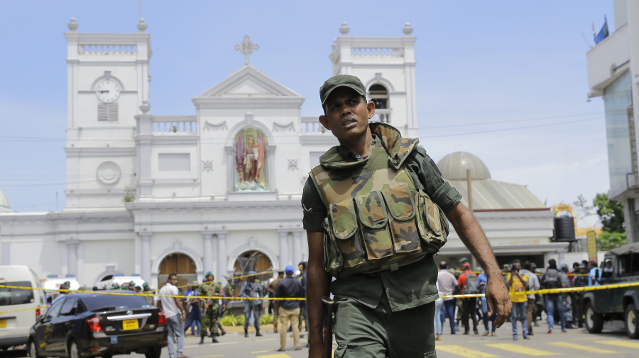 Blasts kill at least 129 in Sri Lanka on Easter Sunday