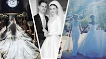 The best celebrity wedding dresses of 2017