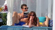 Jamie Dornan and Dakota Johnson Hit the Beach in New Photos From the 'Fifty Shades' Sequel Set