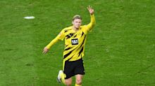 Erling Haaland marks Golden Boy award with four goals as Youssoufa Moukoko becomes youngest Bundesliga player