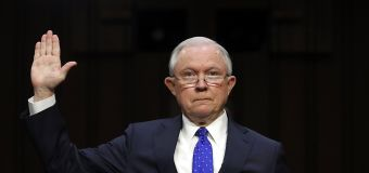 Sessions says he urged Comey firing