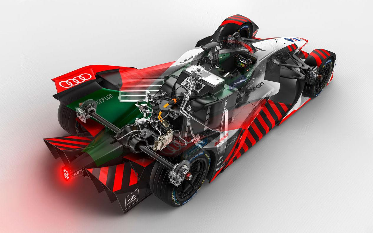 Audi 的新世代 Formula E 賽車有著小巧但強力的馬達