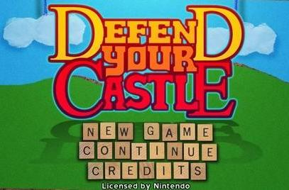 Wii Fanboy Review: Defend Your Castle