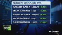 Traders weigh in on Barron's stock picks for 2018