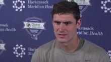Foot US - NFL - Daniel Jones (New York Giants): «Nous avons beaucoup de leaders»
