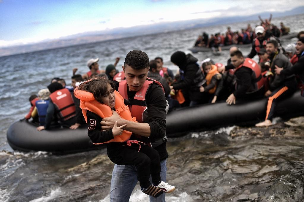 Turkey is sheltering more than two million Syrian refugees and has become a hub for migrants trying to reach Europe (AFP Photo/Aris Messinis)
