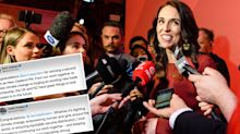 World reacts to Jacinda Ardern's historic election victory