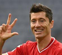 Lewandowski hits hat-trick as Bayern Munich rout Frankfurt