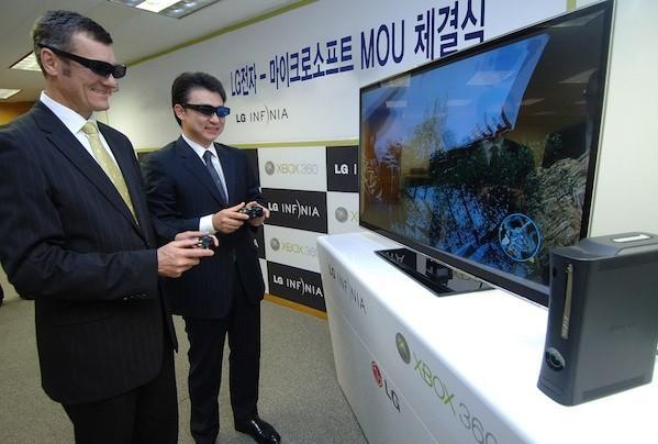 Xbox 360 3D gaming a reality with LG partnership