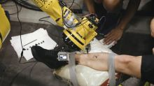 You Have To Watch This Robot Create The Perfect Tattoo