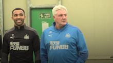 Newcastle United unveil Bournemouth duo