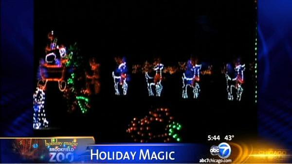 Brookfield Zoo's 31st Annual Holiday Magic