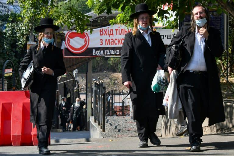 Hasidic Jewish piligrims in Uman are held to tight coronavirus restrictions