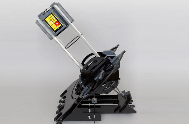 A Nokia Lumia 1020 powers this automated 3D-printed telescope