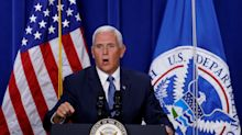 Mike Pence: 'We will never abolish ICE'
