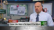 Cramer remains confident on most major banks after earnin...
