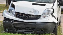 Van drivers injure 10 people a week by tailgating