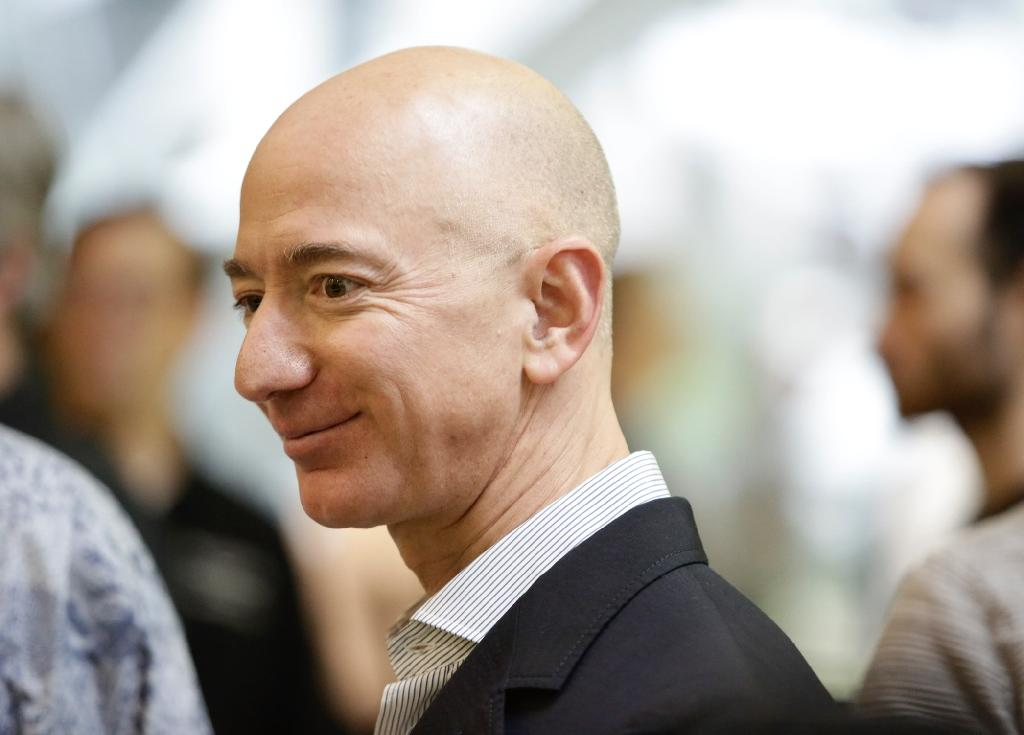Amazon founder Jeff Bezos is donating $2 billion to a new charitable fund focusing on helping the homeless and creating preschools for underserved communities (AFP Photo/JASON REDMOND)