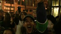 Raw: Seattle Parties After Super Bowl Win