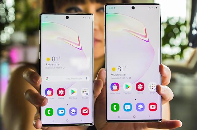 Samsung's Galaxy Note 10 event by the numbers