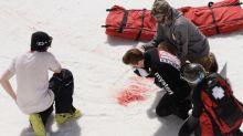 Watch: Shaun White's return to halfpipe after brutal crash