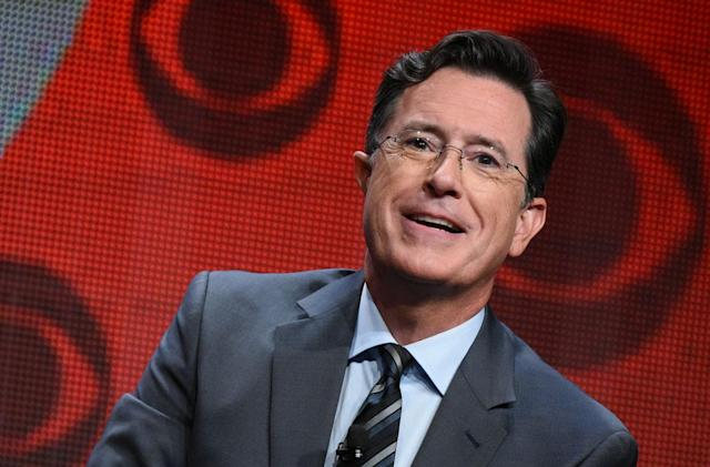Stephen Colbert's first 'Late Show' guests include Tesla and Uber CEOs