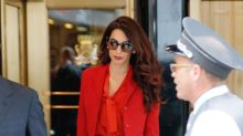 Amal Clooney Returns to Work at the U.N. 3 Months After Welcoming Twins