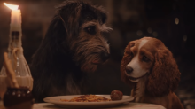 New 'Lady and the Tramp' remake trailer features iconic spaghetti scene