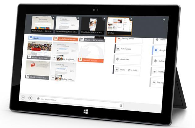 Firefox beta brings touch-friendly web browsing to Windows 8