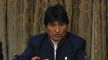 "Morales reitera interés ""simbólico"" de Bolivia en tesoro español"