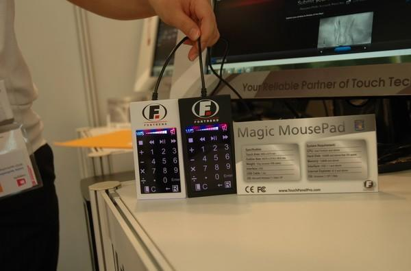 Fortrend's Magic MousePad blends multitouch and numpad functionality into a single package