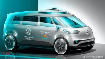 以後真的沒人開VW商旅車了!因為他們積極開發自駕技術中