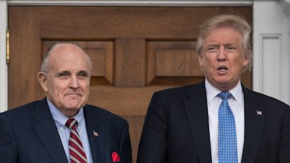 Trump invites embattled Giuliani over for lunch