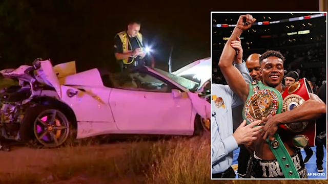 Boxer Errol Spence Seriously Injured In Ferrari Crash In Dallas