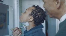 New Gillette ad shows a dad teaching his transgender son to shave
