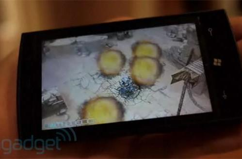 Windows Phone 7 Series gaming, all up in the club (video!)