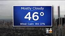 3/31 Afternoon Forecast: Mostly Cloudy, 46