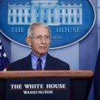 Donald Trump rebukes senior adviser for attacking popular Anthony Fauci