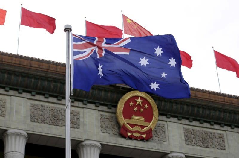 Australian politician says media revelations of Chinese spying disturbing