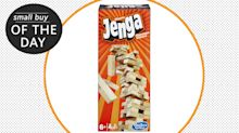 Small buy to make your day: Jenga, the ultimate family-friendly game