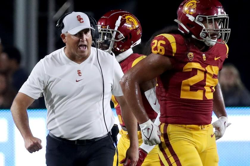 'We wanted him to be the next Pete Carroll': USC players regroup after Clay Helton's dismissal