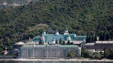 Russian PM visits coronavirus-hit Mount Athos in Greece