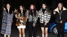[MD PHOTO] NATURE等韓國偶像組合參加《音樂銀行》彩排