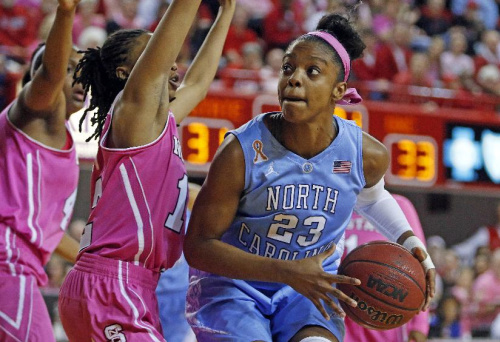 DeShields kicks her game up a notch for No. 11 UNC