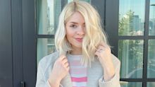 Holly Willoughby's M&S rainbow jumper is on sale for only £10